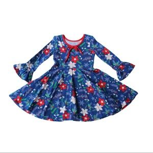 Eleanor Rose Deck The Hall Ruby Dress Size 5/6
